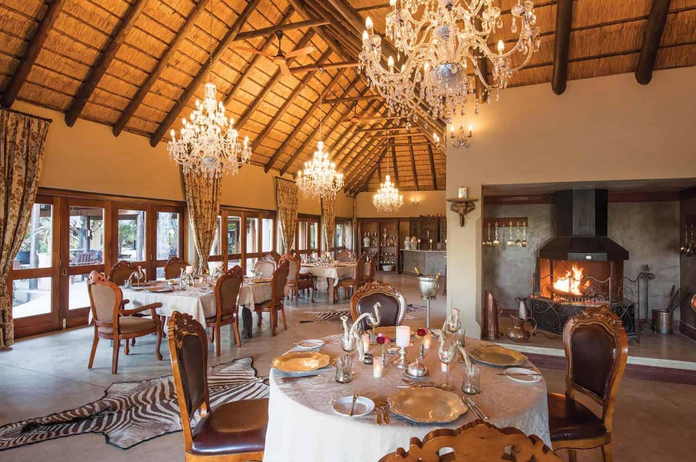 Timbavati Restaurant | Kings Camp Private Nature Reserve